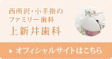 インビザライン安い埼玉 上新井歯科